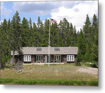 Museum Of The National Park Ranger Metal Print by Feva  Fotos