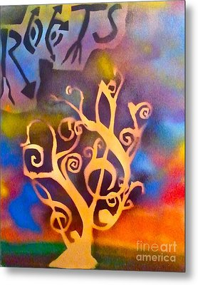 Musical Roots Metal Print by Tony B Conscious