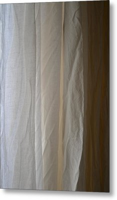 Muslin Morning Light Metal Print