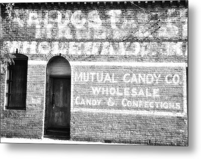 Mutual Candy Company Metal Print by Jan Amiss Photography