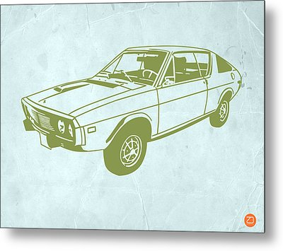 My Favorite Car 2 Metal Print by Naxart Studio