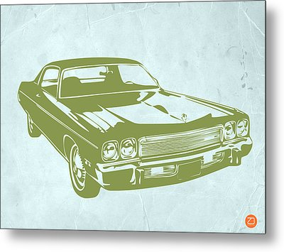 My Favorite Car 5 Metal Print by Naxart Studio