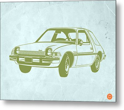 My Favorite Car  Metal Print by Naxart Studio