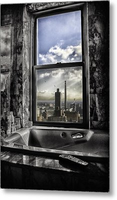 My Favorite Channel Is Manhattan View Metal Print