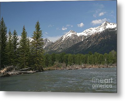 My Favorite Of The Grand Tetons Metal Print by Living Color Photography Lorraine Lynch