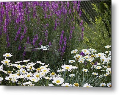 My Garden 1 Metal Print by Michel DesRoches