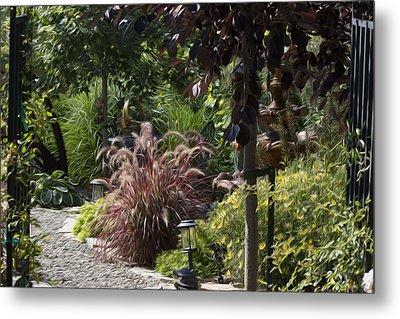My Garden 6 Metal Print by Michel DesRoches