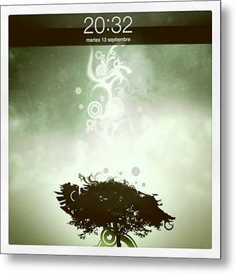 My Ipad 2 Background! :) Metal Print by Pablo Grippo