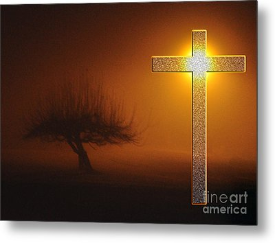 Metal Print featuring the photograph My Life In God's Hands 3 To 4 Ration by Clayton Bruster
