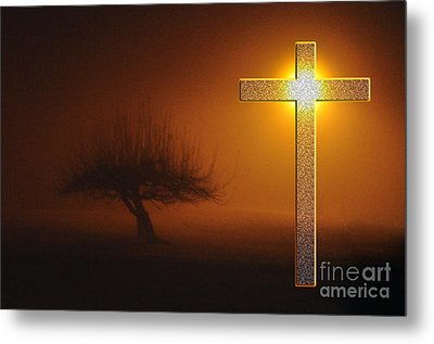 My Life In God's Hands Metal Print by Clayton Bruster