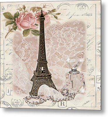 My Paris Metal Print by Taschja Hattingh