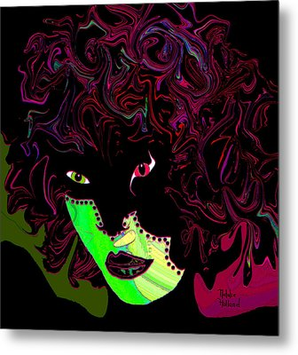 Mysterious Masquerade Metal Print by Natalie Holland