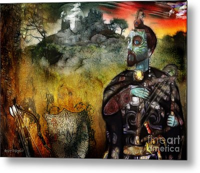 Metal Print featuring the digital art Mystical Adventures by Rhonda Strickland