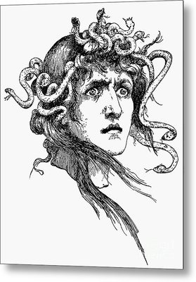 Mythology: Medusa Metal Print by Granger
