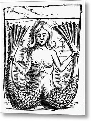 Mythology: Mermaid Metal Print by Granger