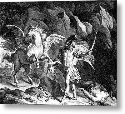 Mythology: Perseus Metal Print