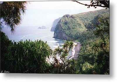 Metal Print featuring the photograph Na Pali Hike by C Sitton