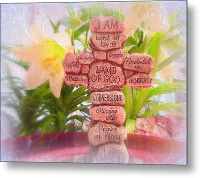 Names Of Lord Cross Metal Print by Cindy Wright