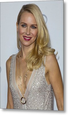 Naomi Watts At Arrivals For Afi Fest Metal Print by Everett