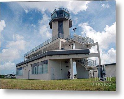 Nasa Air Traffic Control Tower Metal Print by Nasa