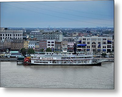 Metal Print featuring the photograph Natchez  by Helen Haw