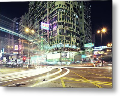 Nathan Road Metal Print by Thank you for choosing my work.
