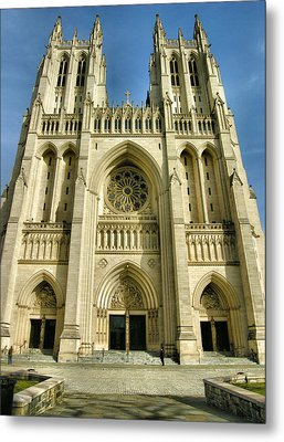 National Cathedral IIi Metal Print by Steven Ainsworth