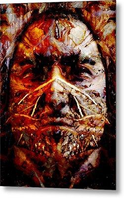 Native Spirit Metal Print by Christoher Gaston