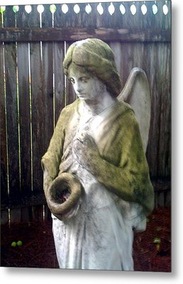 Nature Angel Metal Print by Rebecca Poole