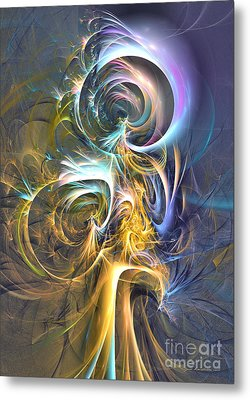 Natures Magic Trick Metal Print by Sipo Liimatainen