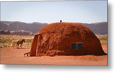 Navajo Home Metal Print