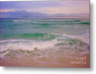 Navarre Sunset Metal Print by Jeanne Forsythe