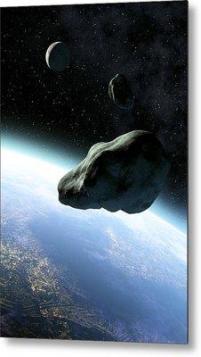 Near-earth Objects, Artwork Metal Print by Take 27 Ltd