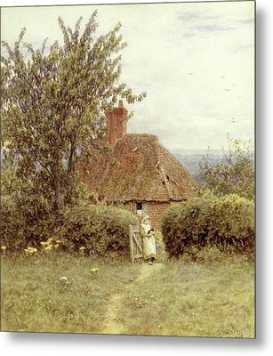 Near Haslemere Metal Print by Helen Allingham