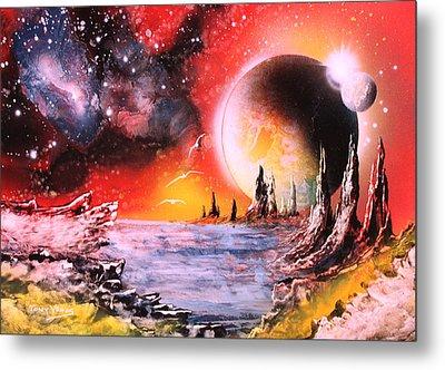 Nebula Storm Metal Print by Tony Vegas