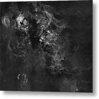 Nebulosity In The Cygnus Constellation Metal Print by Andre Van der Hoeven
