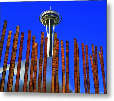 Needle In A Haystack Metal Print by Randall Weidner