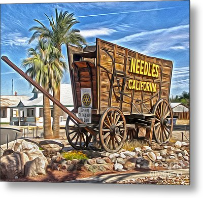Needles California Metal Print by Gregory Dyer