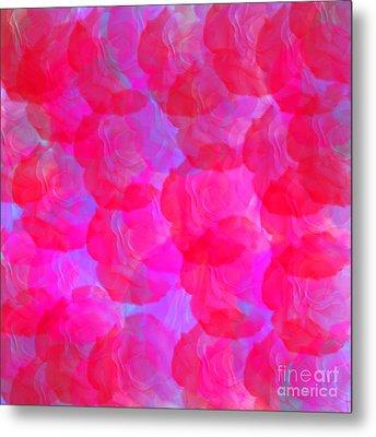 Neon Roses Metal Print by Susan Stevenson
