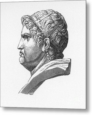 Nero (37-68 A.d.) Metal Print by Granger