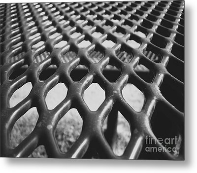 Metal Print featuring the photograph Net by Andrea Anderegg