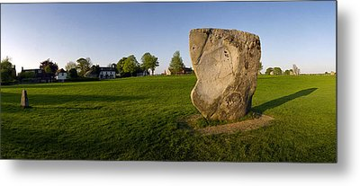 New And Old Stones At Avebury Metal Print