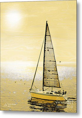 New Dawn Metal Print by Artist and Photographer Laura Wrede