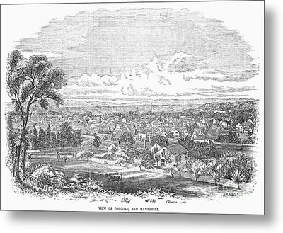 New Hampshire: Concord Metal Print by Granger