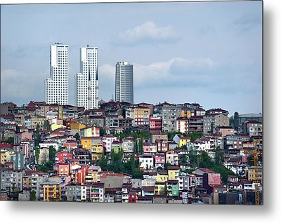 New Istanbul Metal Print by Cheminsnumeriques