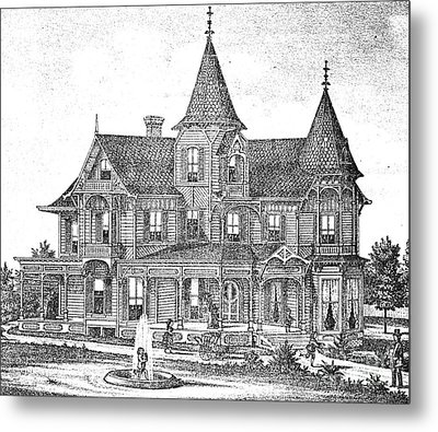 New Jersey: Atwood House Metal Print by Granger