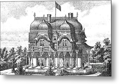 New Jersey: House, C1876 Metal Print by Granger