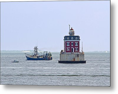 New London Ledge Lighthouse. Metal Print