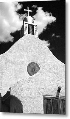 New Mexico Church Metal Print by Sonja Quintero