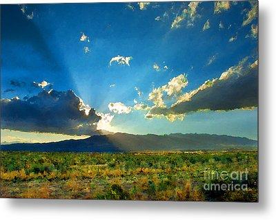 New Mexico Desert Metal Print by Betty LaRue